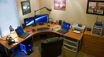 As vantagens do Home Office. Conheça as vantagens do trabalho em casa em um Home Office.