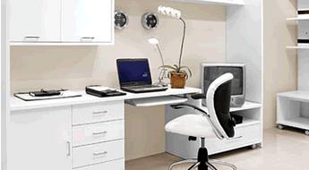 Excellent Como Montar Um Home Office Veja Algumas Dicas Praticas Largest Home Design Picture Inspirations Pitcheantrous
