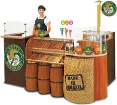 Franquia Nutty Bavarian. Uma franquia de quiosque barata e de muito sucesso, além é claro, alto retorno