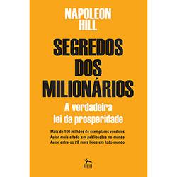 Livro Segredo dos Milionários