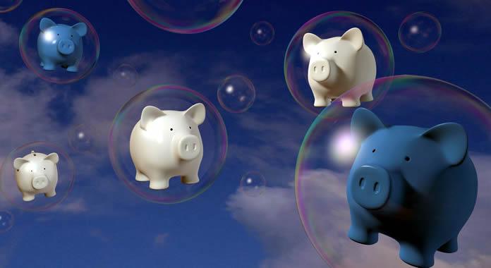 Estouro da bolha especulativa das Bitcoins
